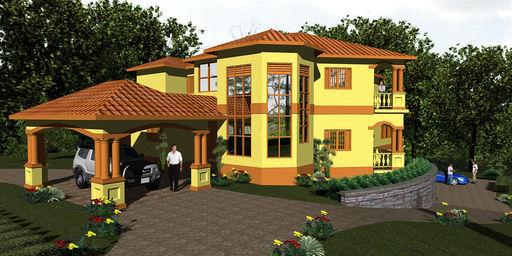Jamaican House Plans House Plans