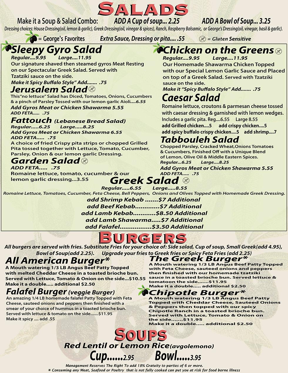 Saba 39 s mediterranean cuisine view menu for Mediterranean restaurant menu