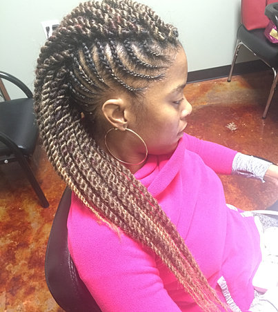 miami atlanta vixen crochet braids marley twists natural hair