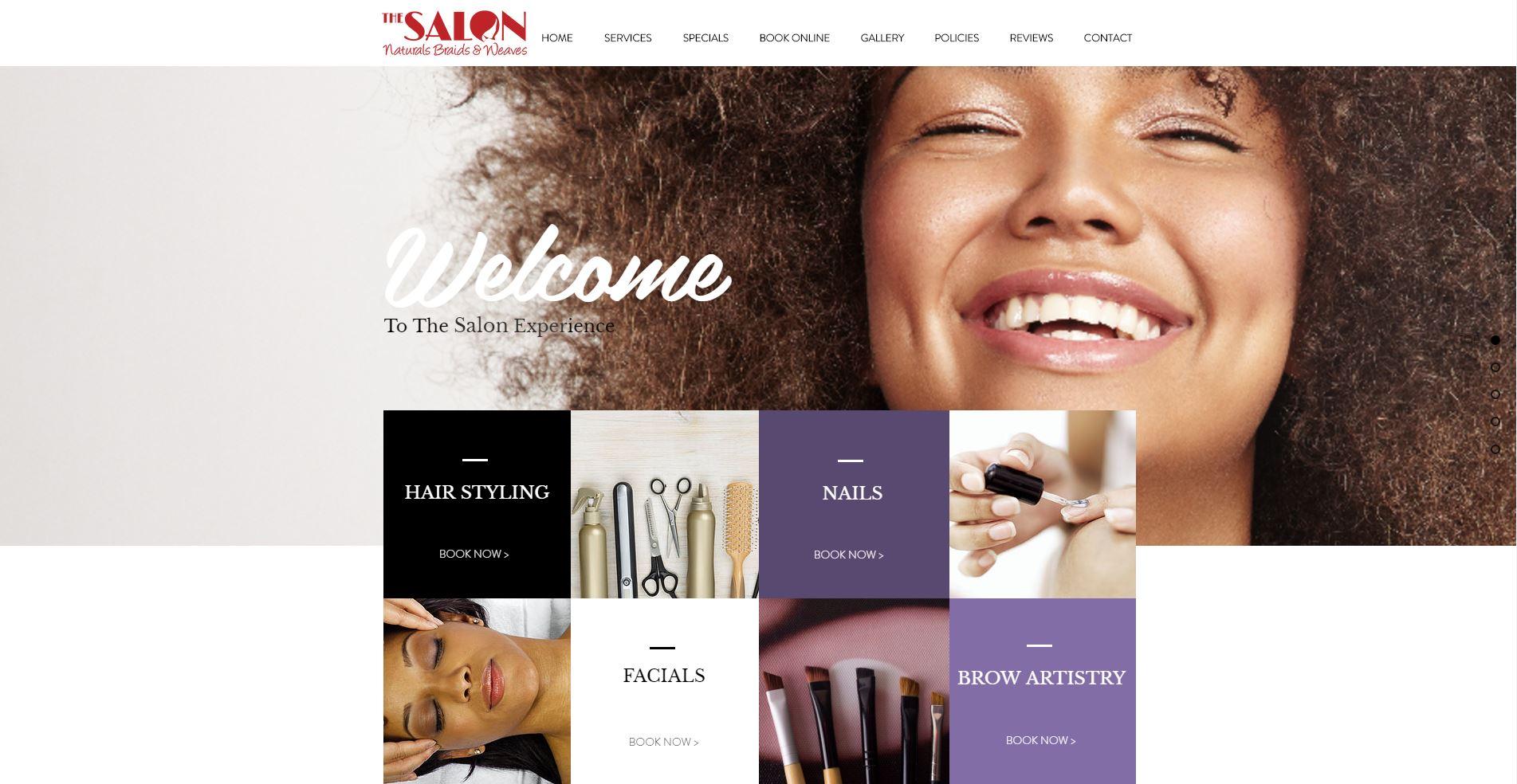 The Salon Naturals Braids Weaves