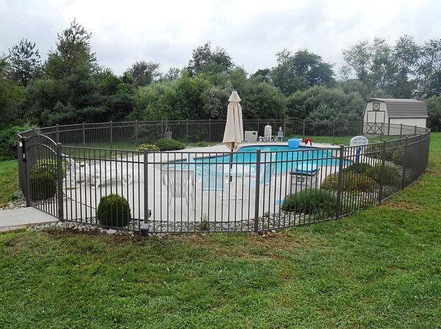 tri boro fencing contractors swimming pool code fence bath pa