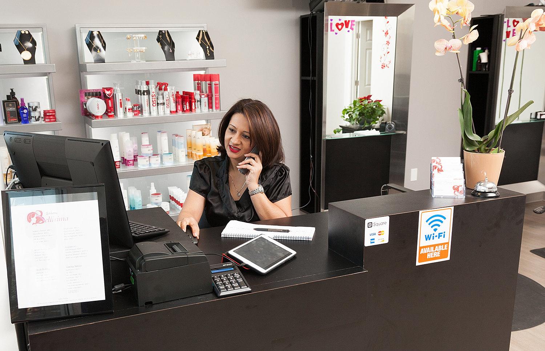 salon bellisima full service hair and nail salon in falls church salon bellisima full service hair and nail salon in falls church va erica at the front desk