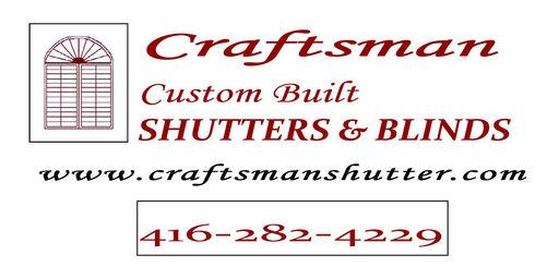 craftsman shutters logo