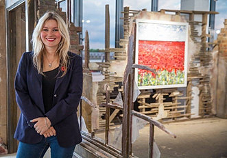 Esther McVey Pictures Scarlett Raven - Private View -