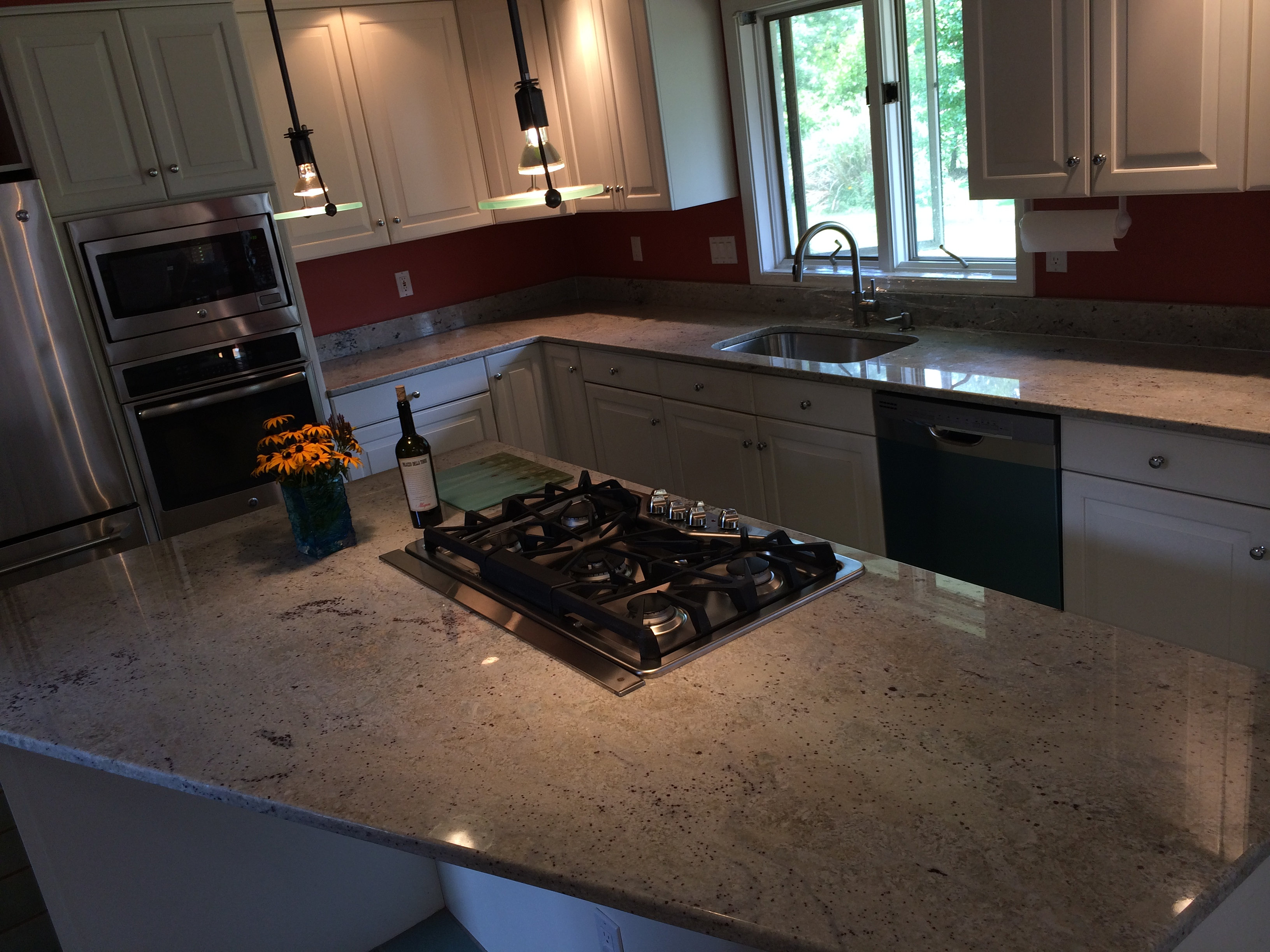 Bianco Romano Granite Kitchen New England Granite Cabinets Kitchen Countertops Granite