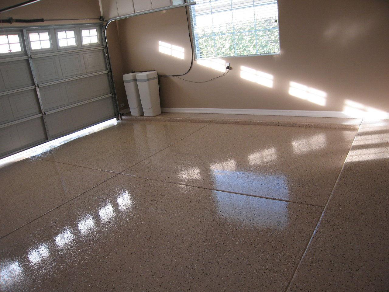 A Custom Garage Floor