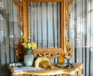 Specchiere e consolle in stile for Specchiera barocca