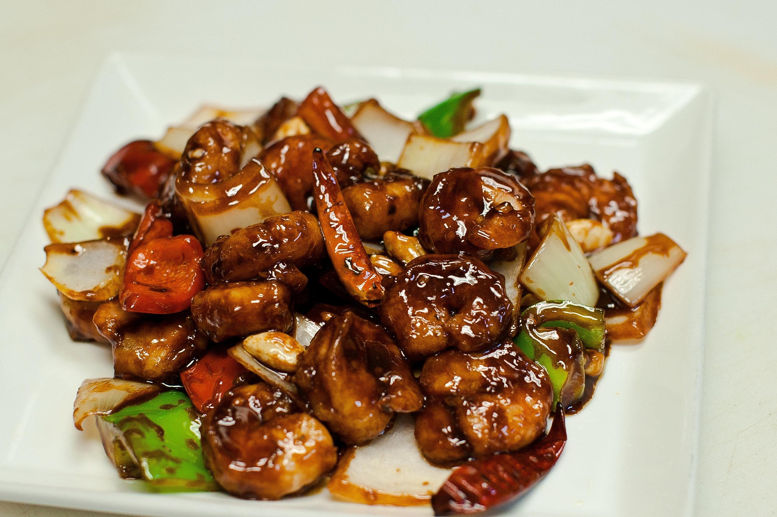 Go China Restaurant | Chinese Food | Kung Pao Shrimp