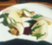 Salad of Cep Mushrooms, Figs & Corra Lin