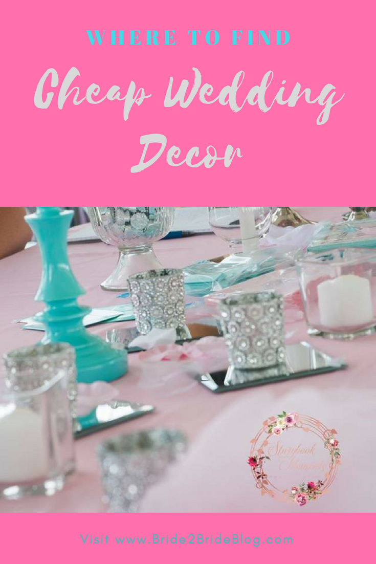 Where To Find Cheap Wedding Decor | Bride2BrideBlog