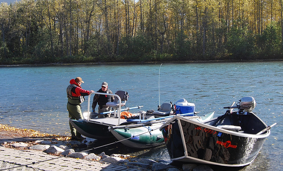 Day trips south of anchorage for Cooper landing fishing