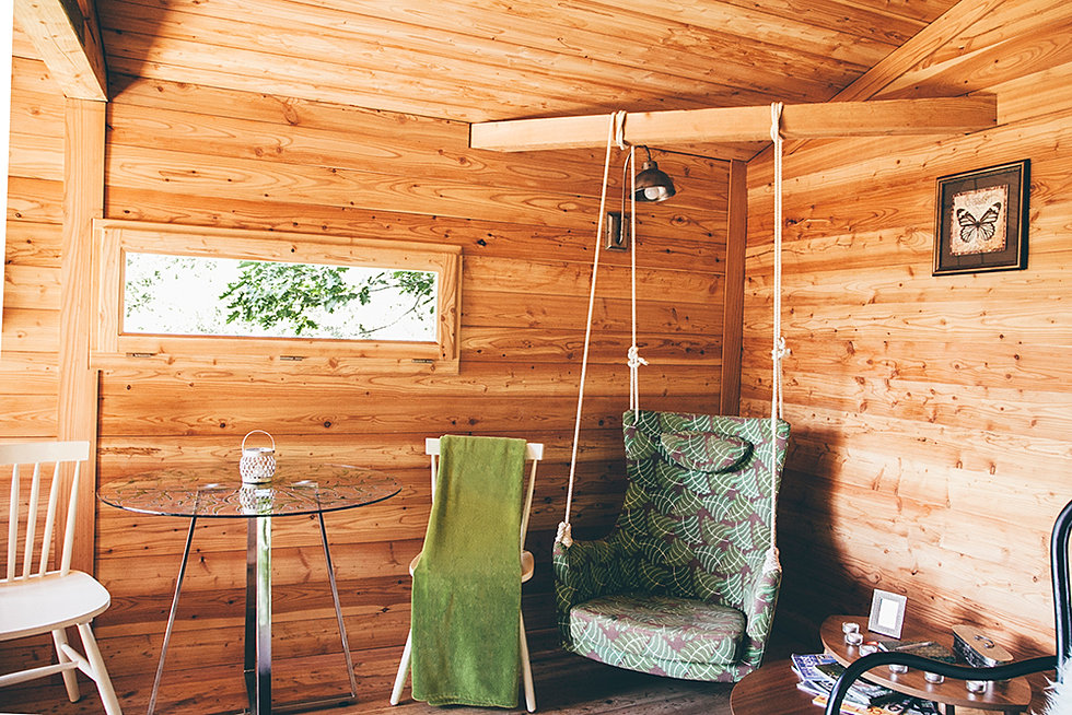 Dormir en una casa rbol - Cabana txantxangorria ...