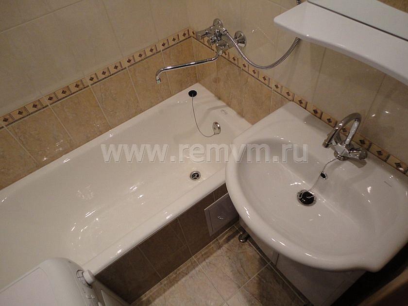 Дизайн ванной комнаты 93 серия
