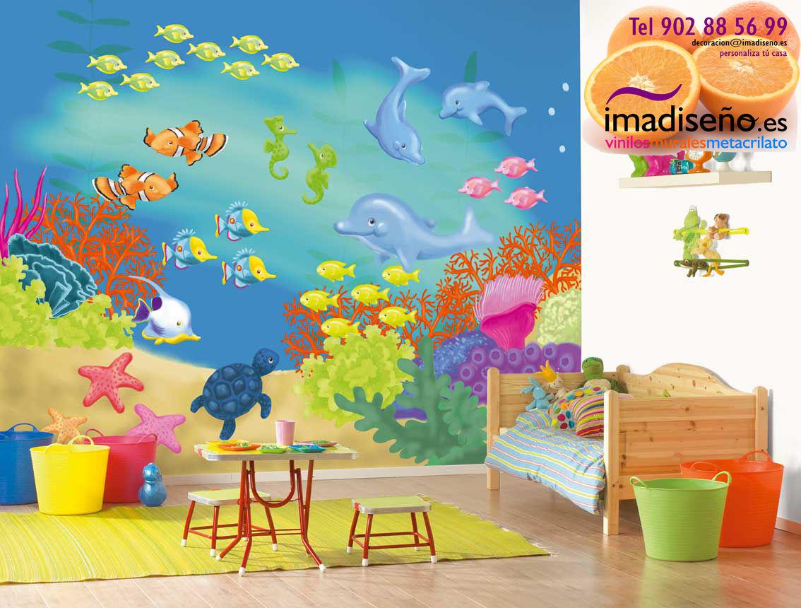 Imamural murales decorativos fotomurales for Fotomurales infantiles