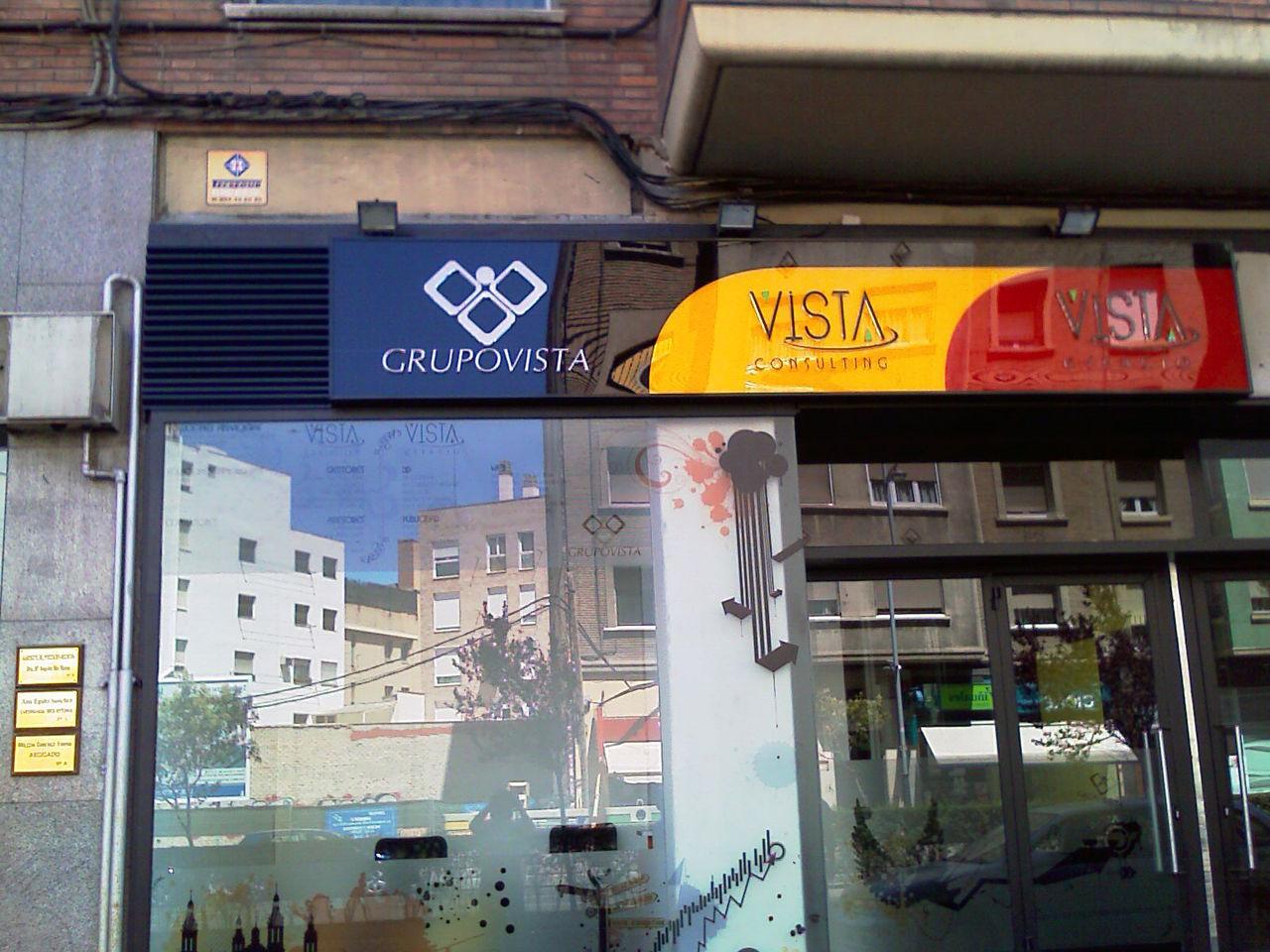 Rotulos luminosos zaragoza rotulos zaragoza rotulos fachadas comerciales letras - Vinilo huesca ...