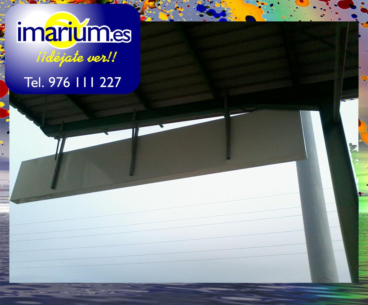 ROTULOS Luminosos ZARAGOZA | Rotulos imarium.es Zaragoza | Rotulos ...