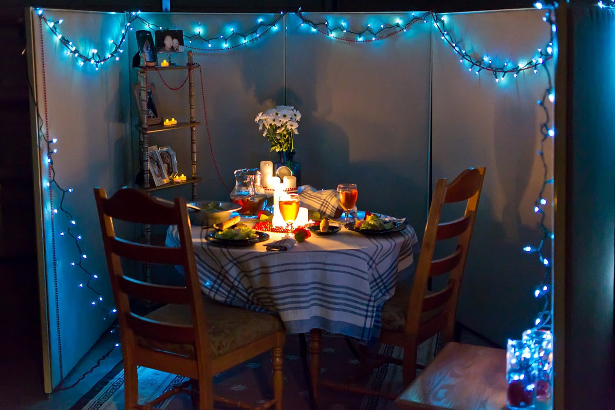 Romantic At Home Dinner Date Ideas After you prepare your meal