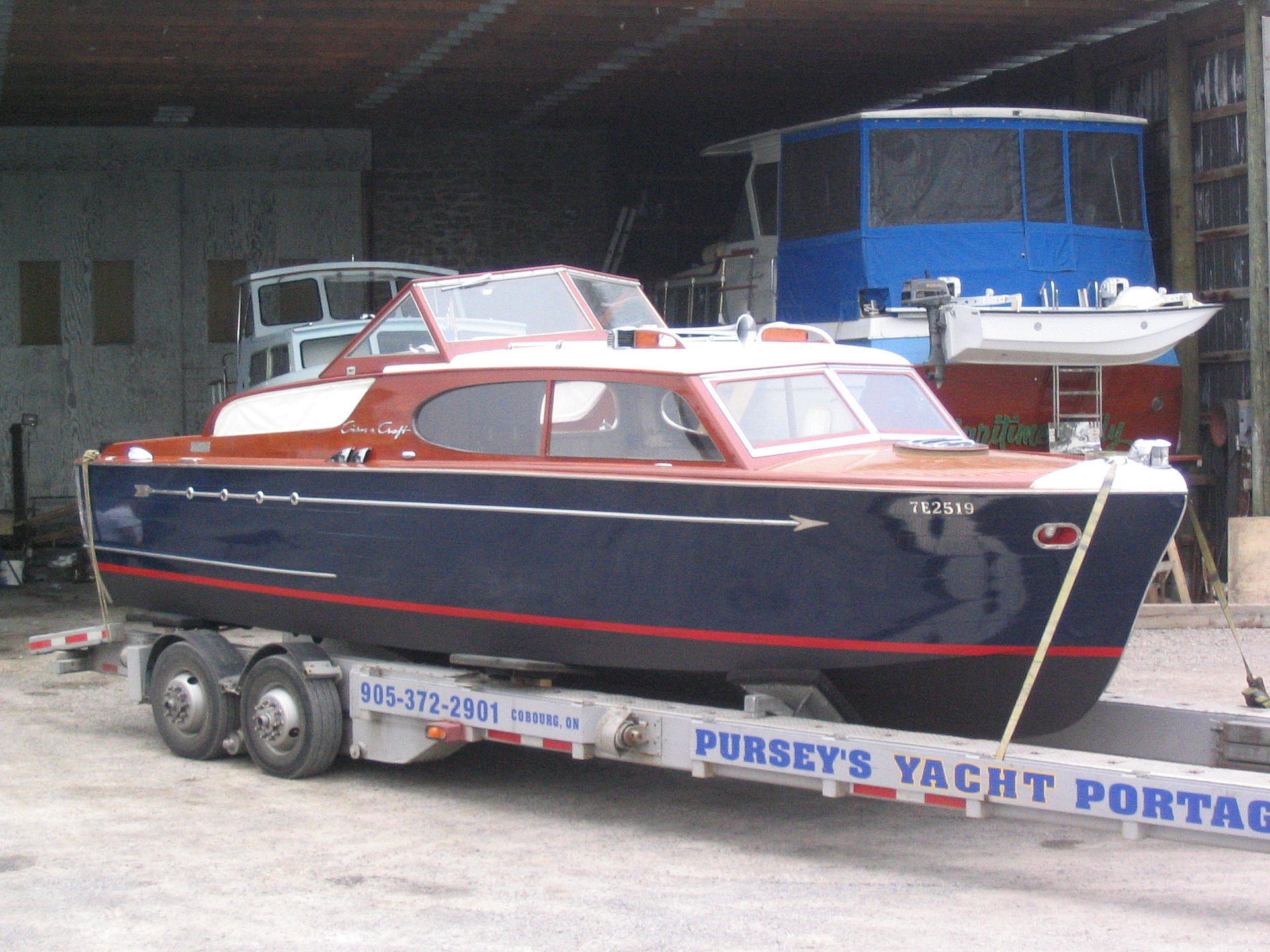 Sharp marine restoration and wooden boat repair chris for Chris craft boat restoration