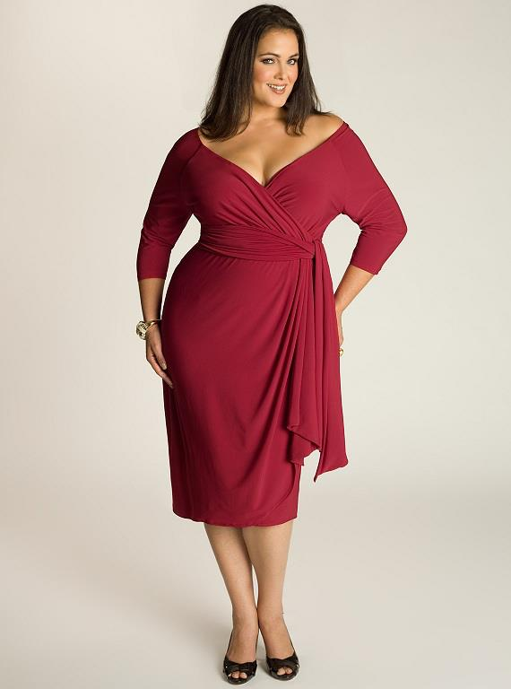 plus size dresses fashionable