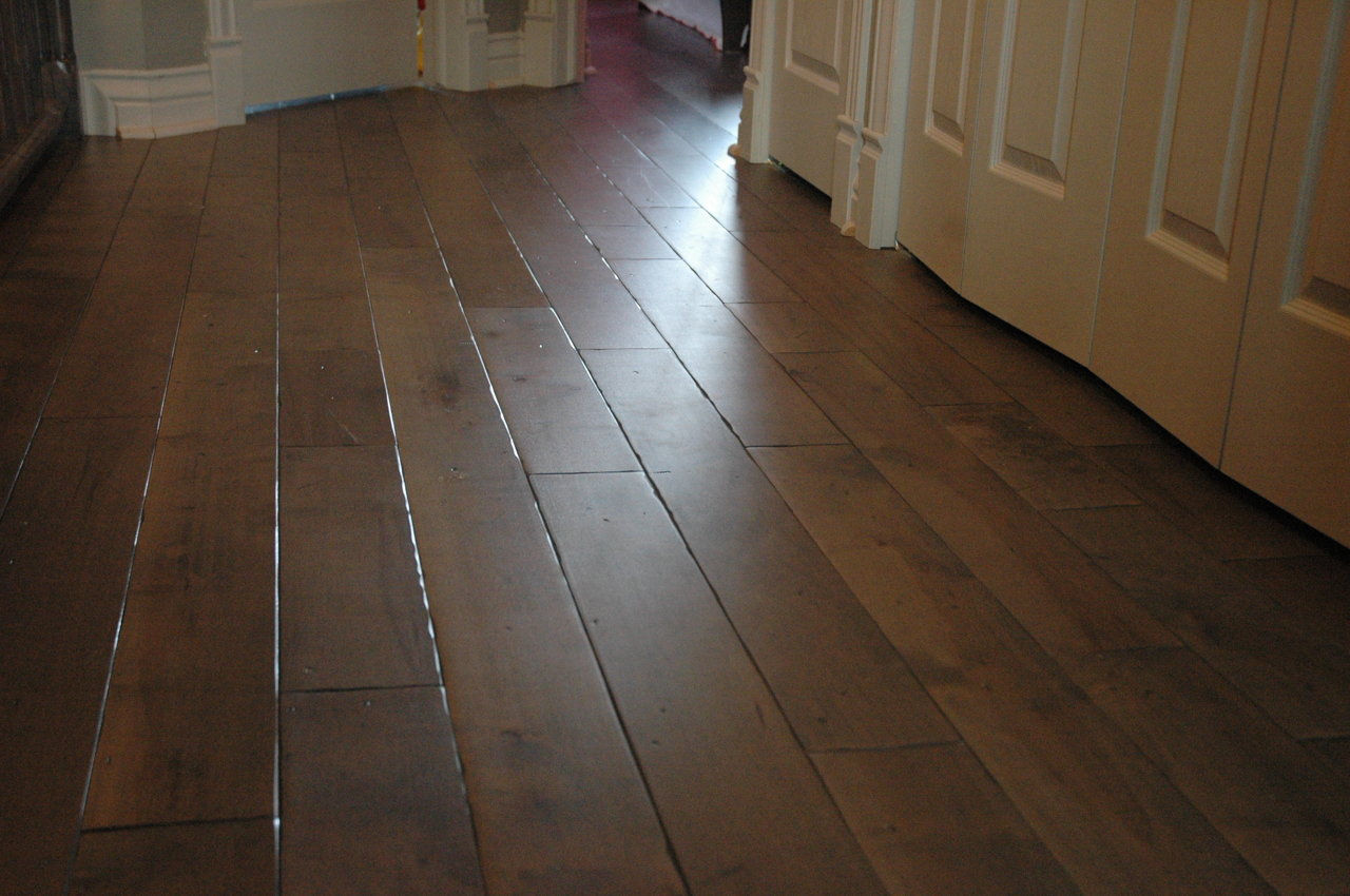 Black River Flooring Canadian Made Hand Distressed Wide Plank Wood Flooring