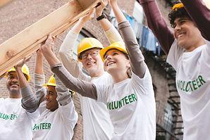 Ramka do podnoszenia wolontariuszy