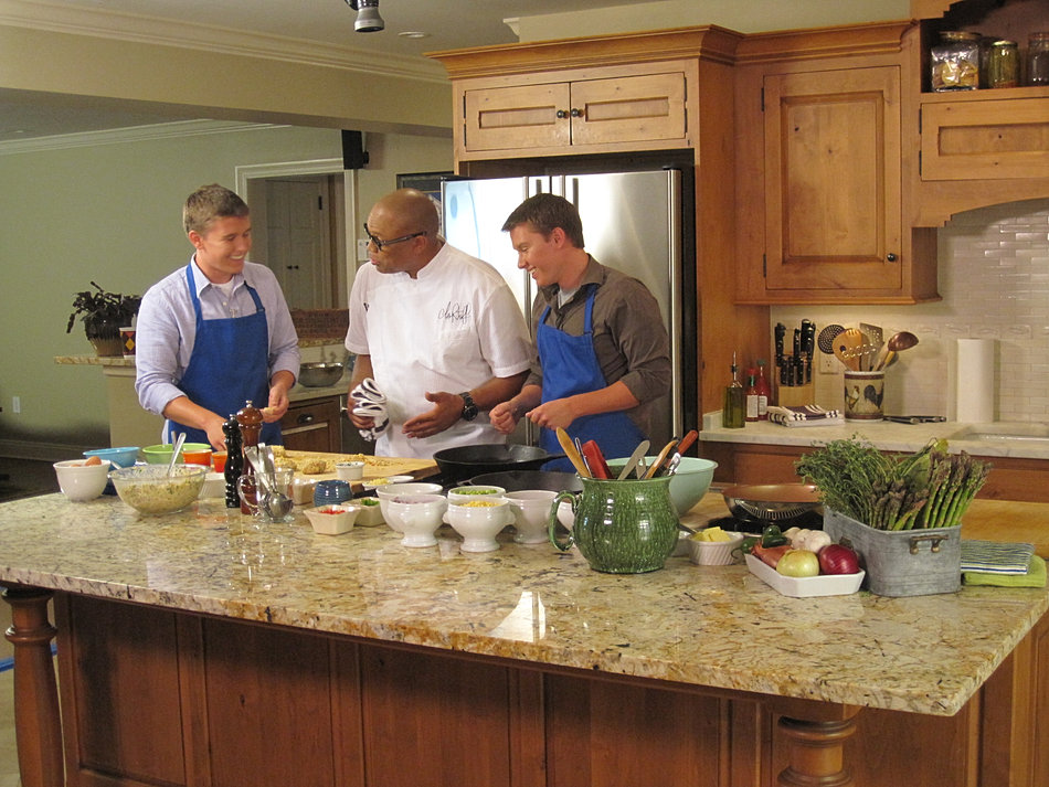 On Set with Chef Jeff