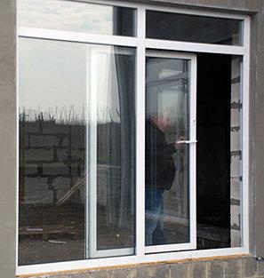 Сдвижные пластиковые окна на балкон..