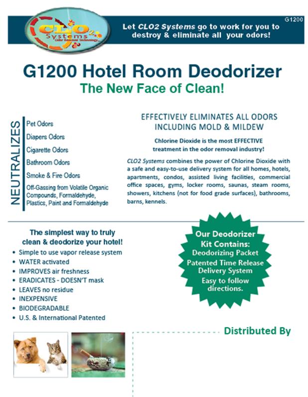 CLO2 Systems | Chlorine Dioxide Deodorizer | Decontaminate all Odors ...