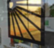 Gold Leaf Windows