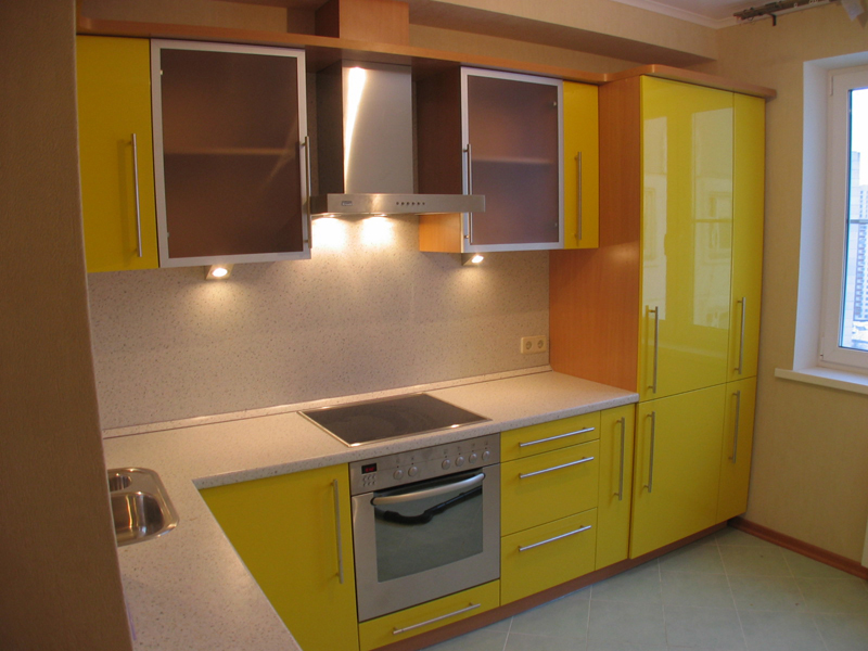 Дизайн кухонь на заказ фото