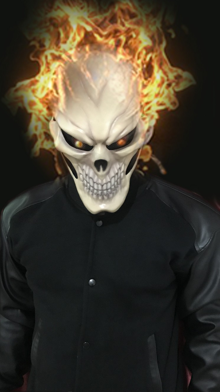 Best Cosplay Costume in U.S Godofprops | Ghost Rider Agent of ...