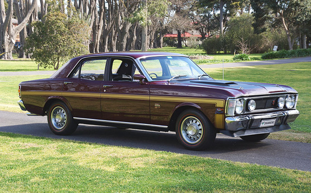 Classic Australian Cars Did Well With A Highly Optioned 1969 Ford Falcon XW GT Former Promotional Sedan Selling For 77000 1978 Holden HZ GTS Monaro