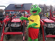 Froggy at Tractor Pros!