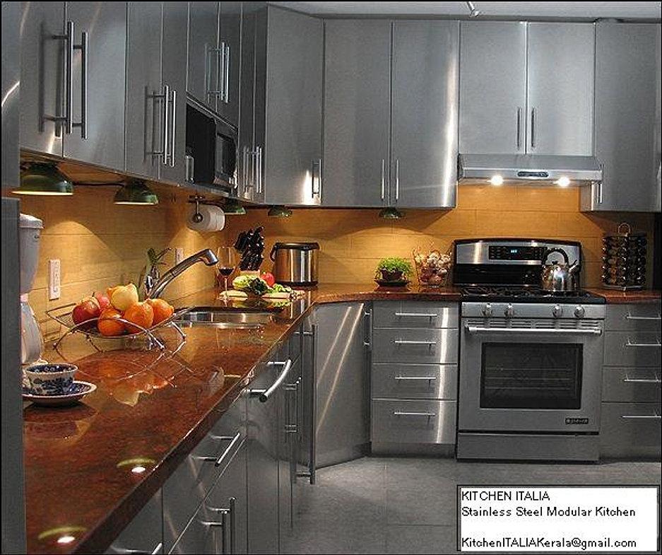 Kitchen Countertop Material Bangalore : ... Kitchens, Laminated MDF - WOODEN MODULAR KITCHENS - ERNAKULAM - KERALA
