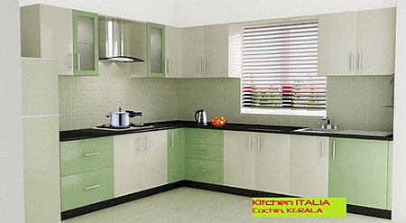 Kitchen italia modular kitchens for Acrylic kitchen cabinets india