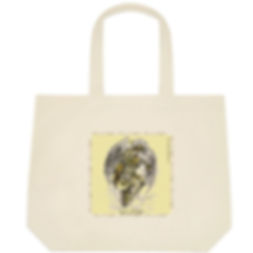 Fanitsa Petrou Art, Cotton bag, Tote bag, fabric shopping bag, Angel print, Love & Light, Angel gifts, www.fanitsa-petrou.com
