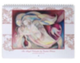 Fanitsa Petrou Art, angel calendars, Angels, Angel apintings, fairy calendars, mermaid calendars, illustration, Fantasy Art, 2016 calendars, www.fanitsa-petrou.com