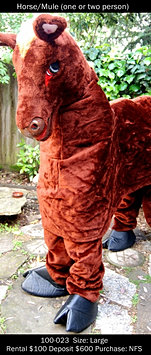 Pantomime Horse - 2 Person Style