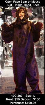 Open Face Bear or Mouse