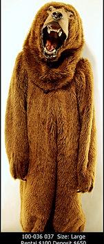 Brown Bear Mascot