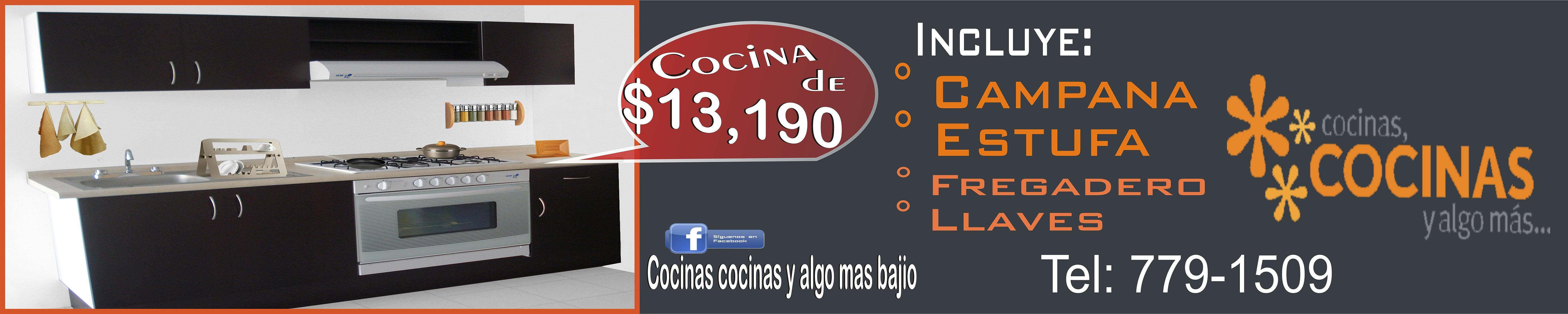 Imagen digital lona promo cocinas cocinas y algo mas leon for Cocinas cocinas y algo mas