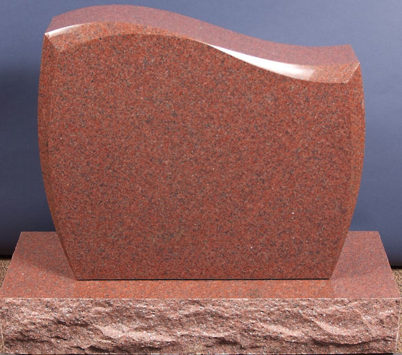 Red Bronze Stone : Ragan monuments kevin kanak memorials pittsburgh