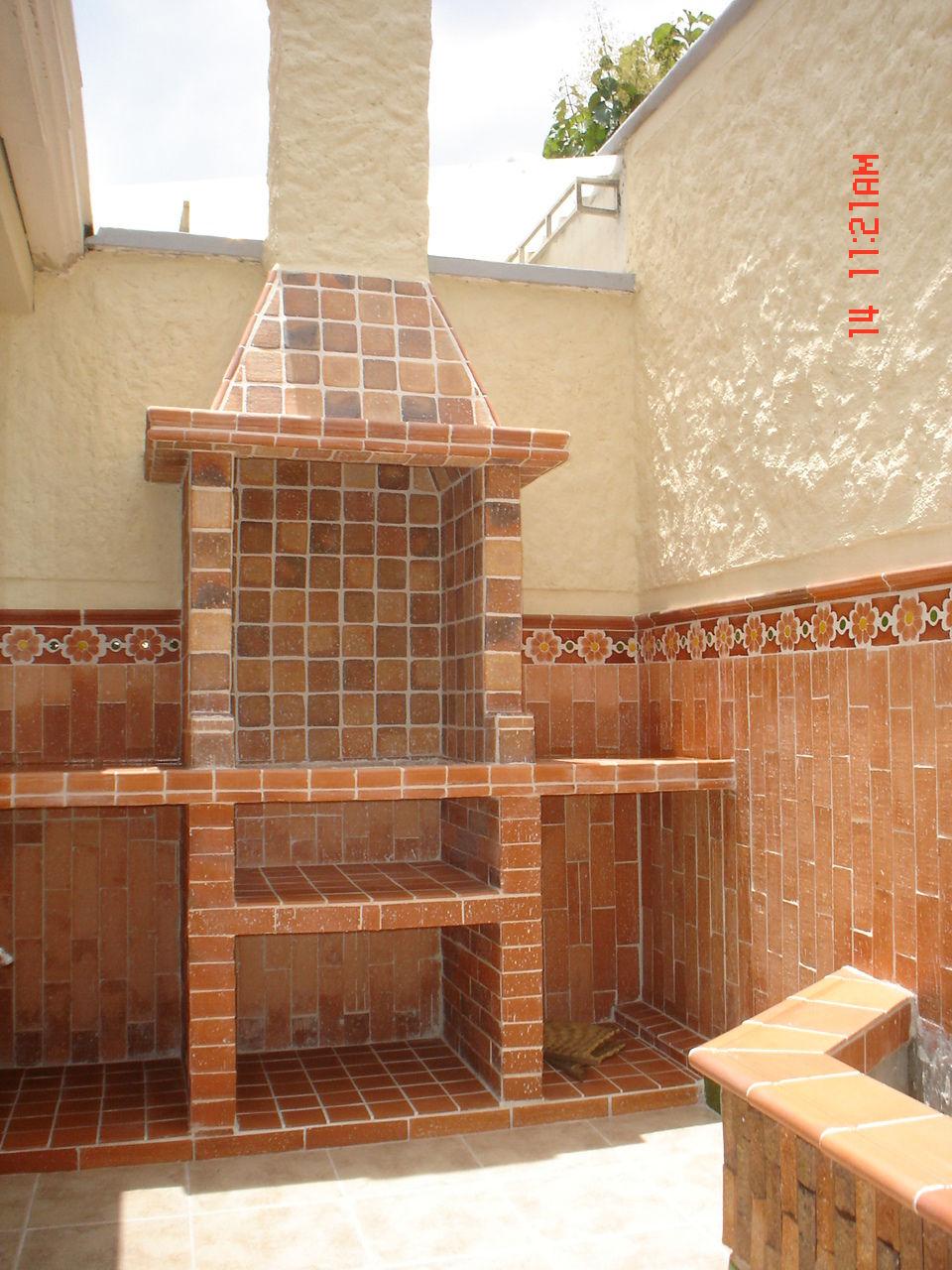Deposito de materiales en bucaramanga pisos para for Asadores de jardin rusticos