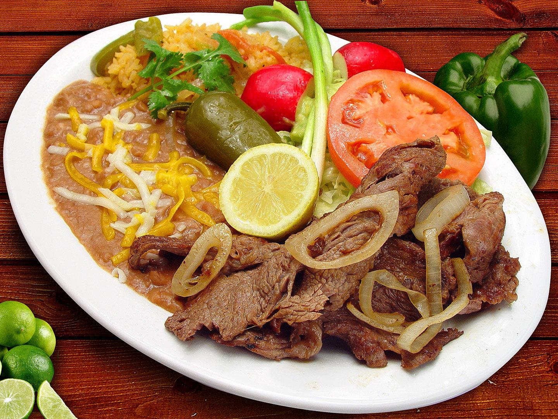 #15 Carne Asada Plate