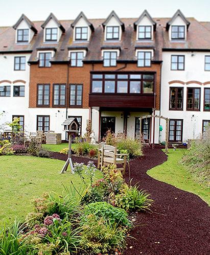 Havering Care Homes Upminster Nursing Home Gardens