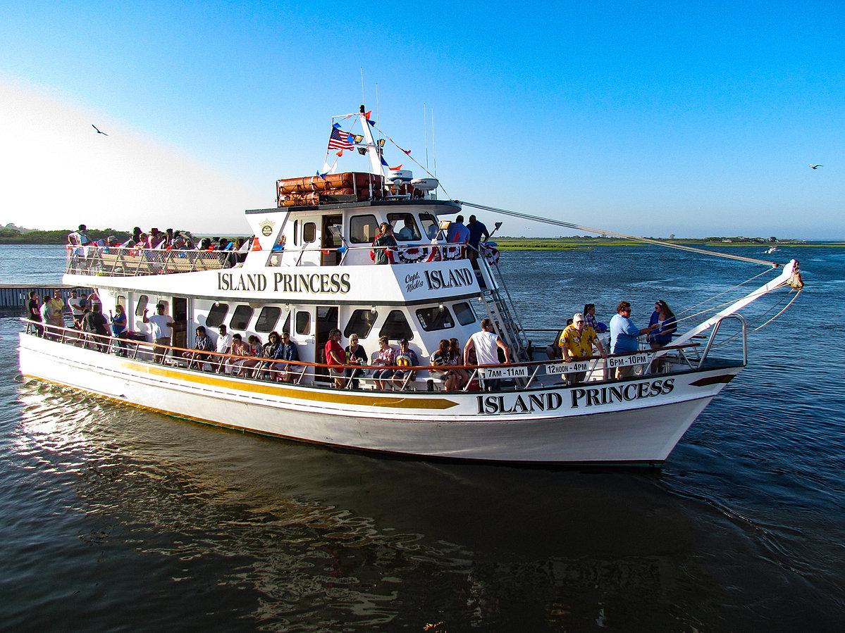 Island princess fishing boat long island captree fluke for Fishing boats long island
