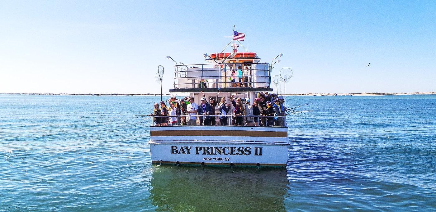Bay princess charter boat captree state park babylon ny for Captree state park fishing