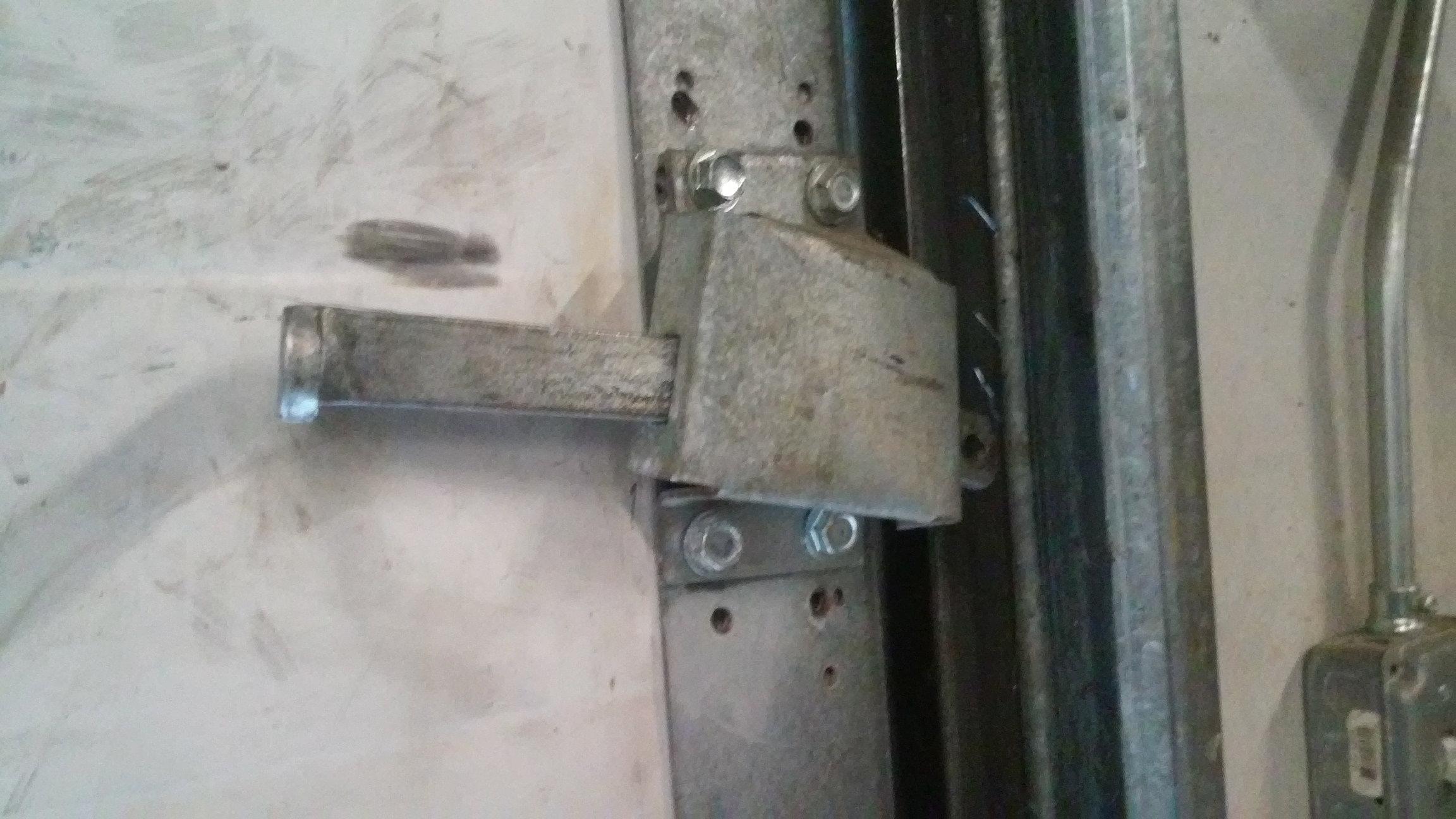 Garage Door Slide Lock
