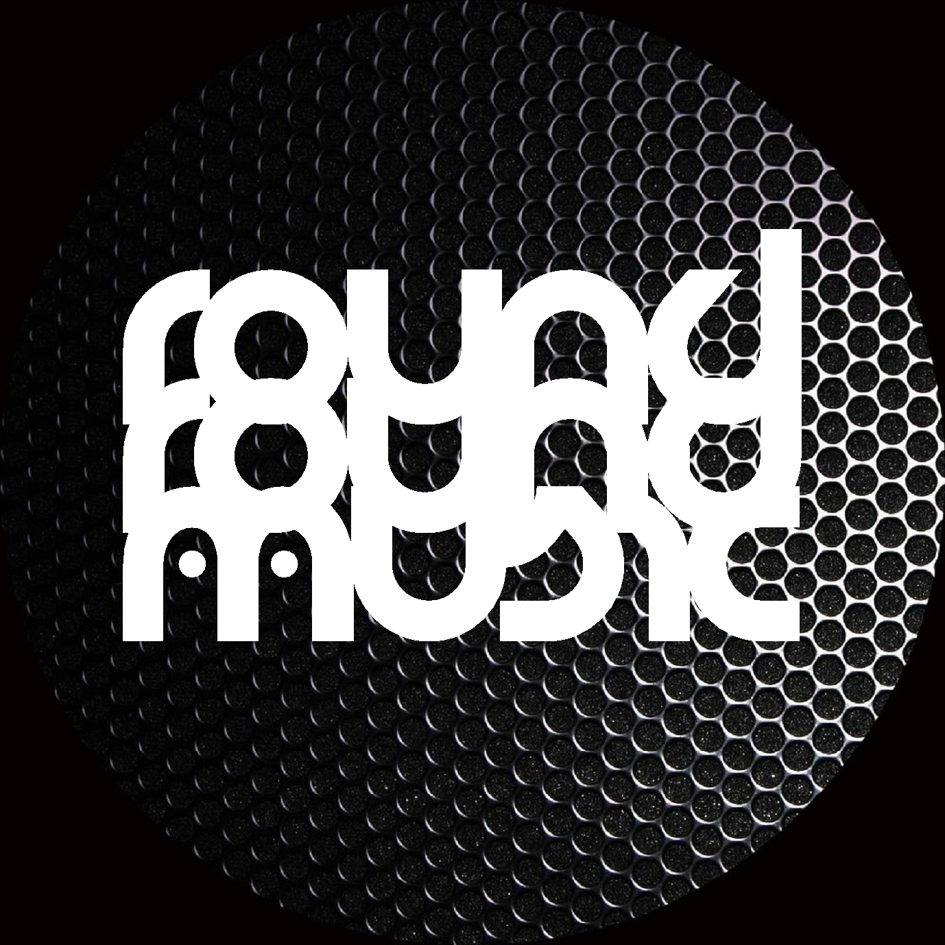 Round round music chicago house label for 90s chicago house music