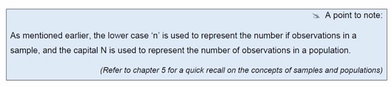 arithmetic mean formula pdf